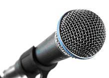 Image of Microphone.
